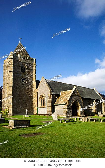 St Oswalds Parish Church Thornton in Lonsdale Yorkshire Dales En