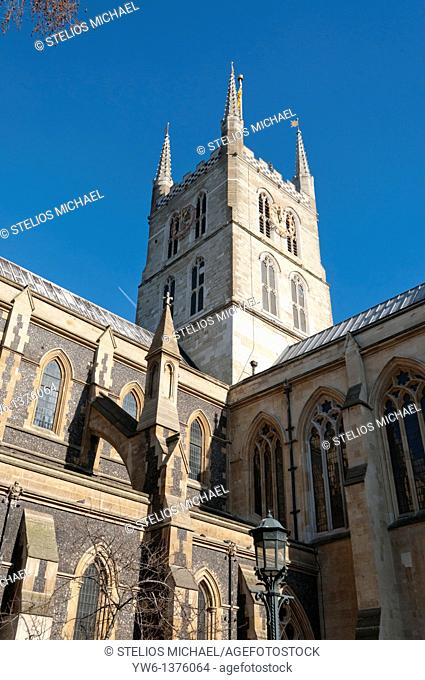 Southwark Cathedral in London,England