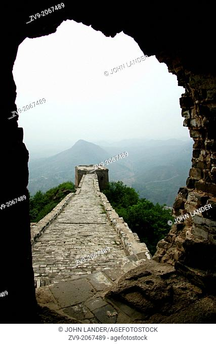 The Great Wall of China is a series of stone and earthen fortifications in northern China, built, rebuilt, and maintained between the 5th century BC and the...