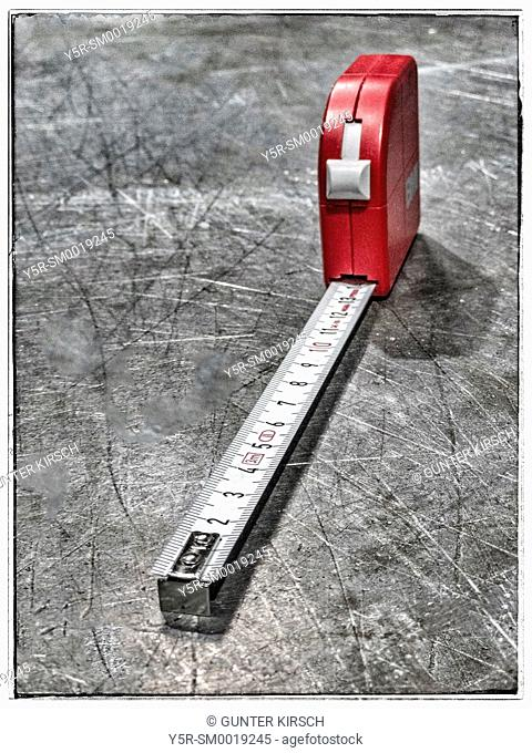 Detail Photo of a measuring tape