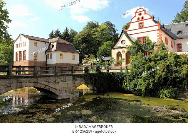 Former manor Schloss Kochberg castle near Grosskochberg, Rudolstadt, Thurinigia, Germany