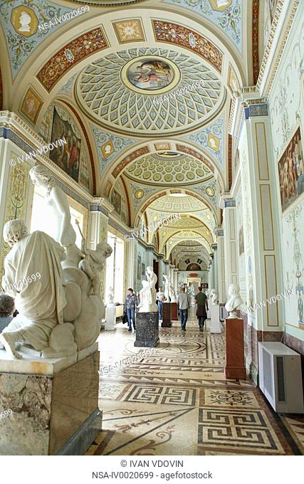 State Hermitage Museum, Winter palace, St.Petersburg, Russia