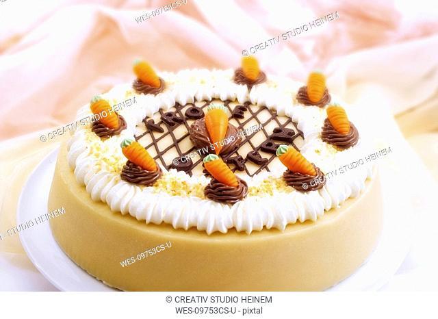 Easter cream cake