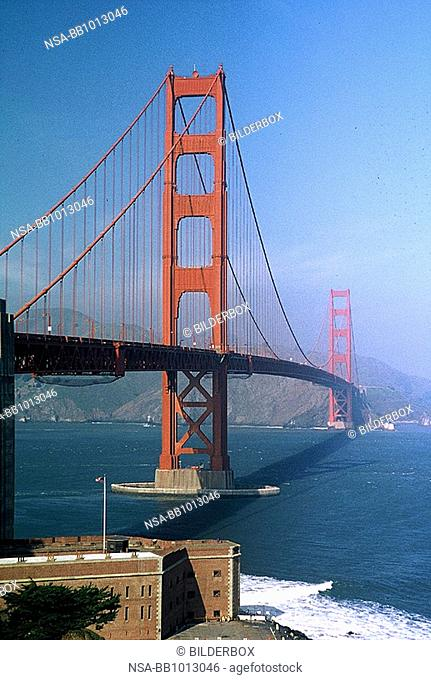 Kalifornien - San Francisco - Golden Gate Bridge