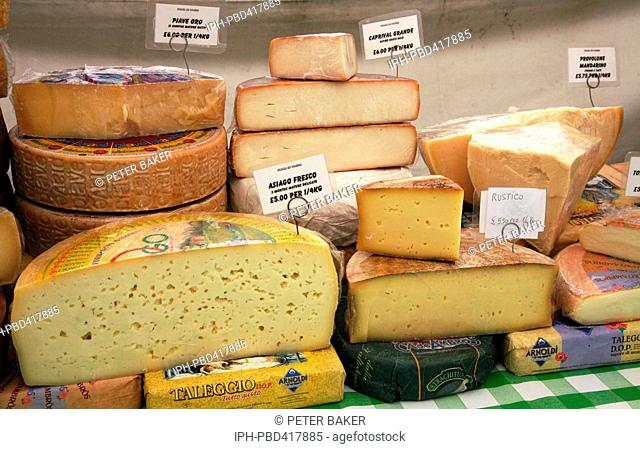 British cheese selection Stock Photos and Images | age fotostock