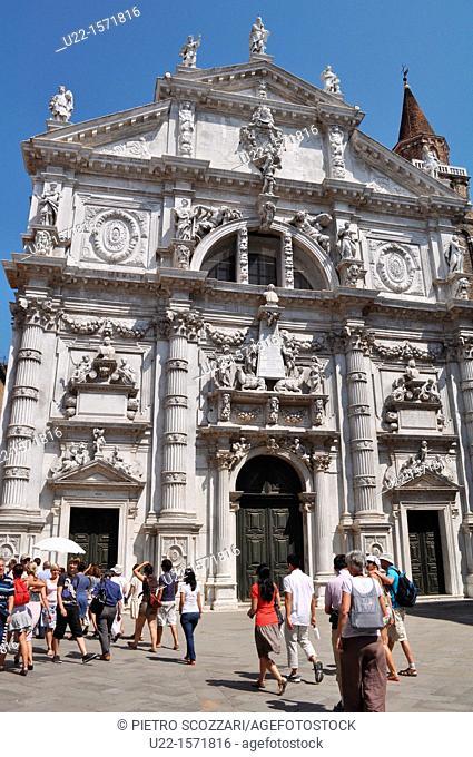 Venezia (Italy): San Moisè Church