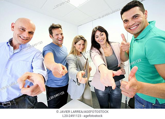 Executive team. Office. Meeting room