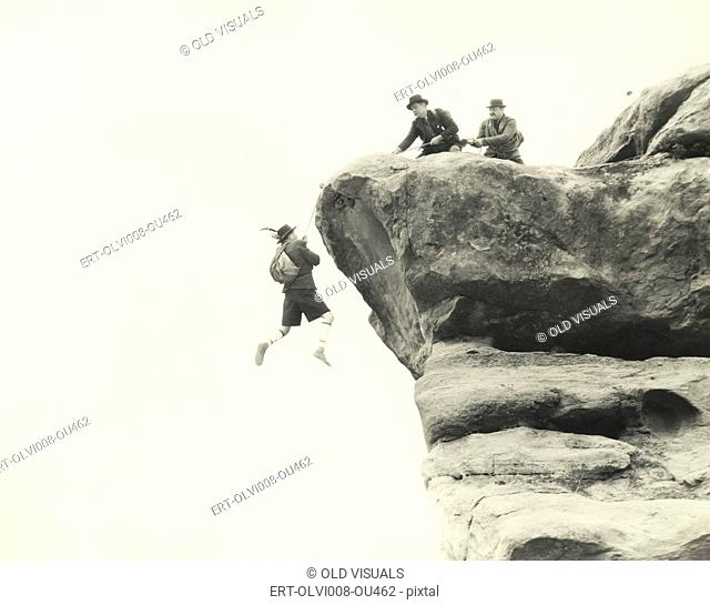 Rescuing mountain climber (OLVI008-OU462-F)