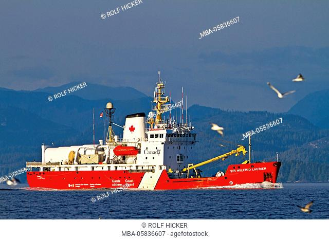 Canadian Coast Guard Ship Sir Wilfrid Laurier