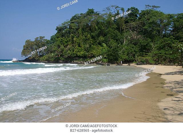Red Frog beach. Isla de Bastimentos. Bocas del Toro. Panamá