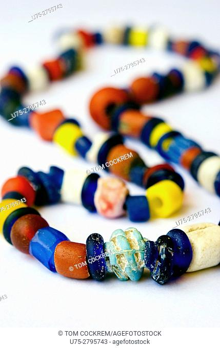 Shipwreck beads from Ilha de Mozambique