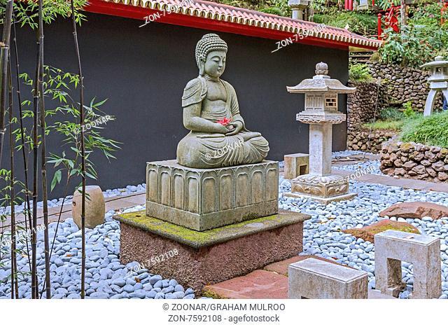 Japanese Garden Monte Palace Gardens Madeira Portugal