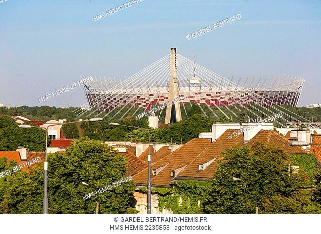 Poland, Mazovia region, Warsaw, National Stadium Warsaw