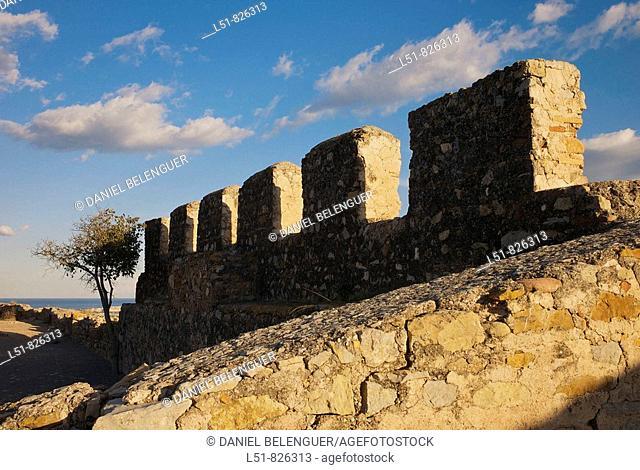 Roman Castle of Sagunto, Valencia, Comunidad Valenciana, Spain, Europe