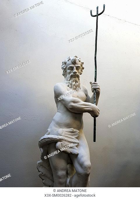 Neptune statue, Fiumicino, Italy