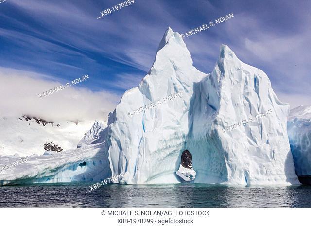 Huge Iceberg near Pleneau Island, western side of the Antarctic Peninsula, Southern Ocean