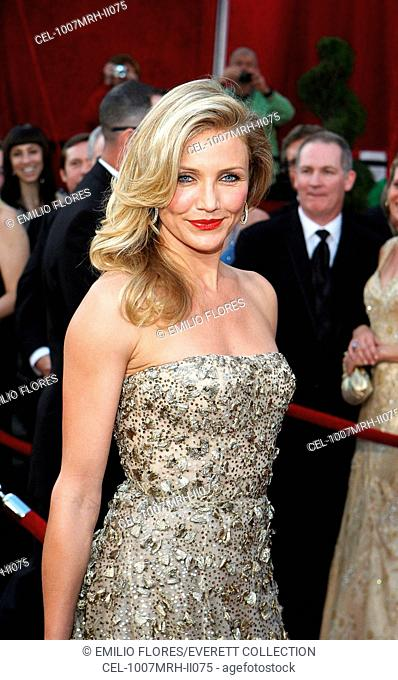 Cameron Diaz (wearing an Oscar de la Renta gown) at arrivals for 82nd Annual Academy Awards Oscars Ceremony - ARRIVALS, The Kodak Theatre, Los Angeles