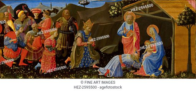 The Adoration of the Magi, c. 1433-1434. Found in the collection of the National Gallery, London