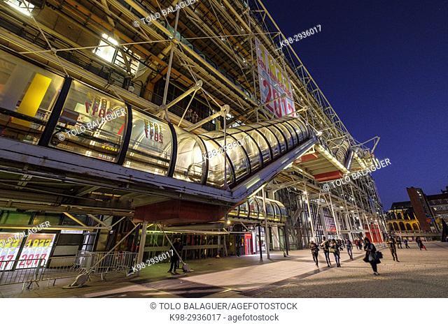 Centre national d'art et de culture Georges-Pompidou, Paris, France