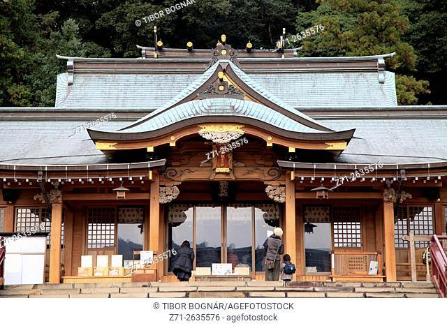 Japan, Nagasaki, Suwa Shrine,