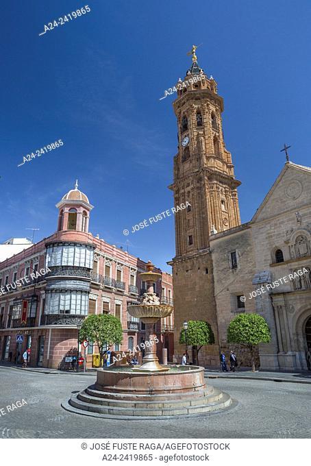Spain , Andalucia Region, Malaga Province , Antequera city, San Sebastian Church