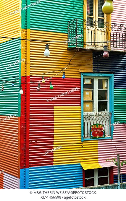 El Caminito, La Boca district, Buenos Aires, Argentina