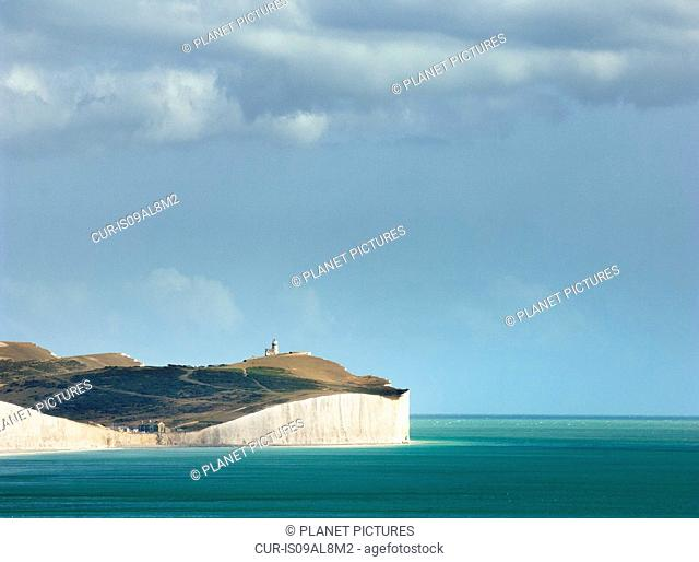 White cliffs, Seven Sisters, Sussex, England