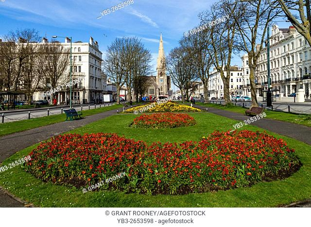 Palmeira Square, Brighton, Sussex, UK