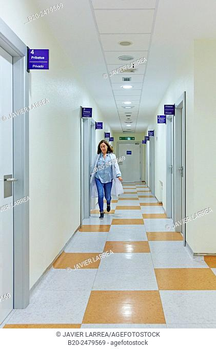 Information to Family rooms, Intensive Care Unit ICU, Hospital Donostia, San Sebastian, Gipuzkoa, Basque Country, Spain