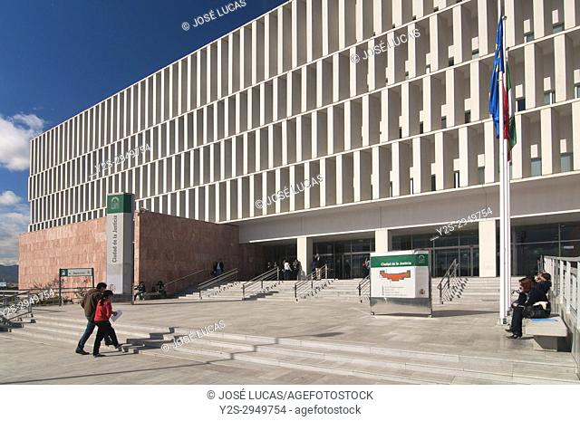 City of Justice - courts, Malaga, Region of Andalusia, Spain, Europe