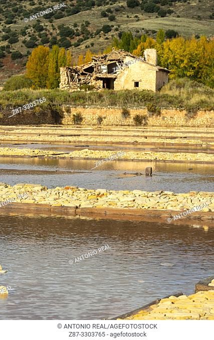 Salinas de Imón. Ruta del Románico Rural. Guadalajara Province, Castile-La Mancha, Spain