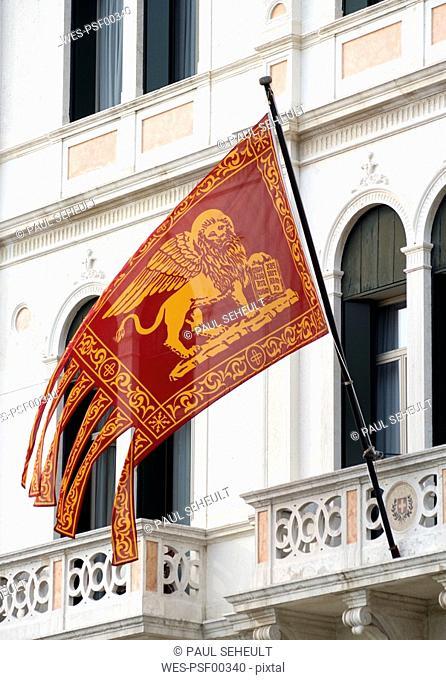Italy, Venice, Venice Flag