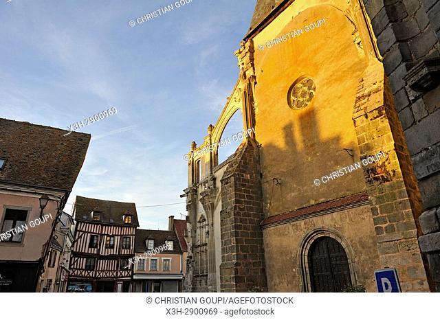 Church Saint-Sulpice, Nogent-le-Roi, Eure-et-Loir department , Centre-Val de Loire region, France, Europe