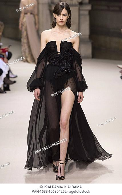 Galia Lahav runway during Haute Couture July 2018. Autumn - Winter 2018-19 Collection. Paris, France. 04/07/2018   usage worldwide