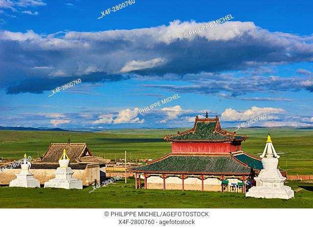 Mongolia, Ovorkhangai, Shankh Monastery, founded in 1647 by Zanabazar