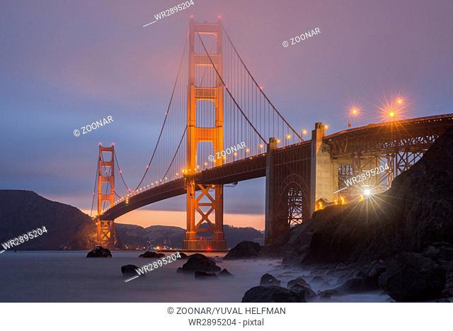 Marshall Beach Golden Gate National Recreation Area, San Francisco, California, USA