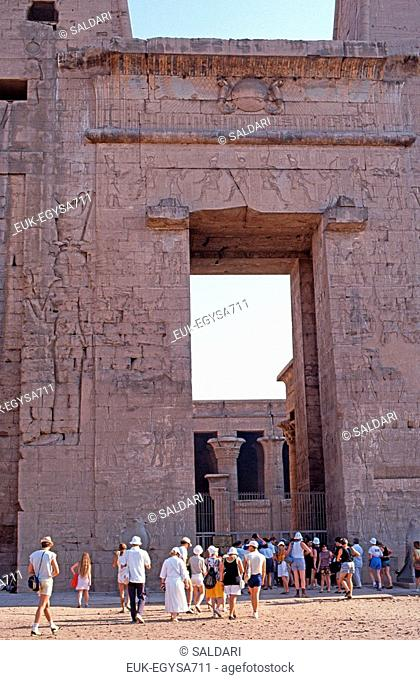 Edfu Temple,Egypt