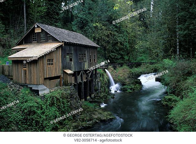 Cedar Creek Grist Mill, Cedar Creek Grist Mill historic site, Washington