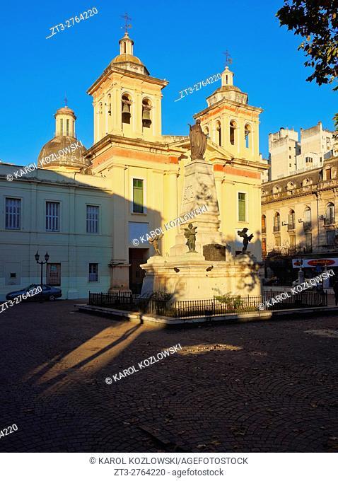 Argentina, Cordoba, View of the Saint Francis Church