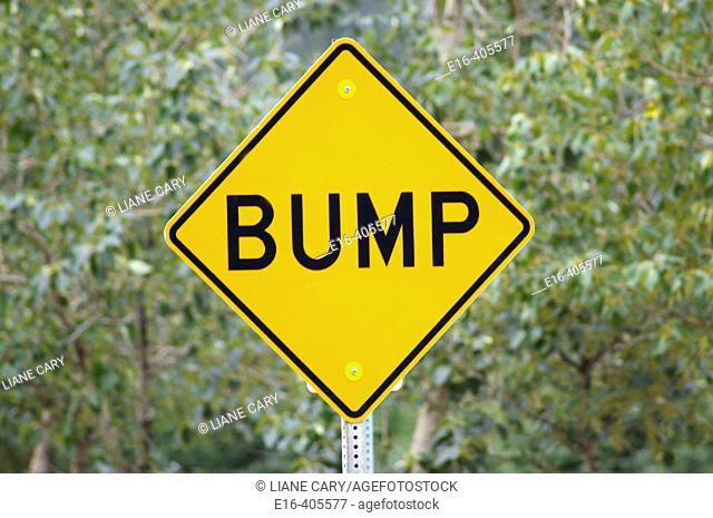 bump sign, Alaska