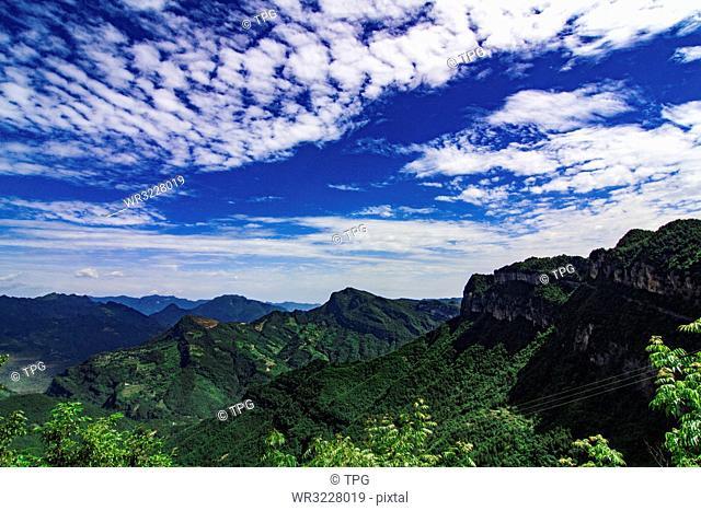 Cangshan Valley;Sichuan; China