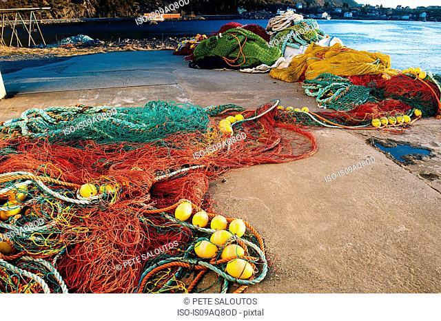Fishing nets, Reine, Norway