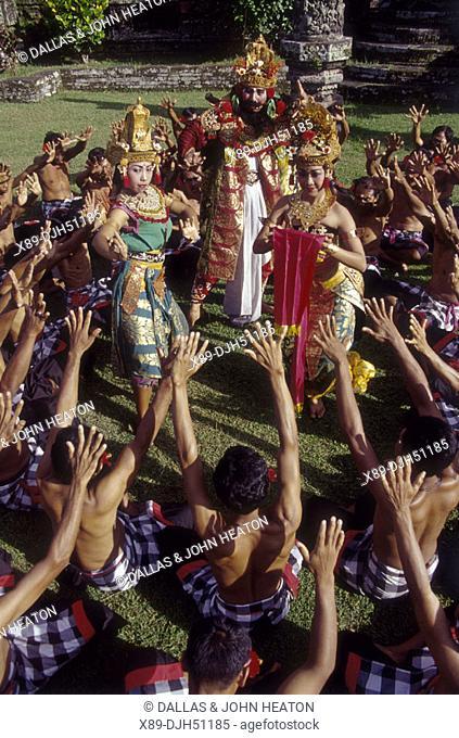 Indonesia, Bali, Kecak Dancing