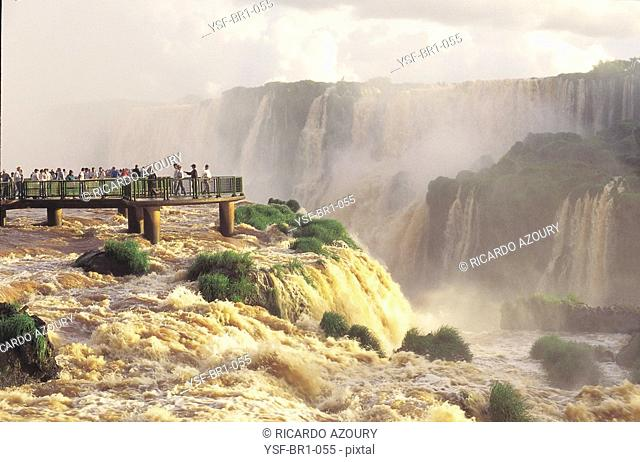 Iguaçu waterfall, Foz do Iguaçu, Paraná, Brazil