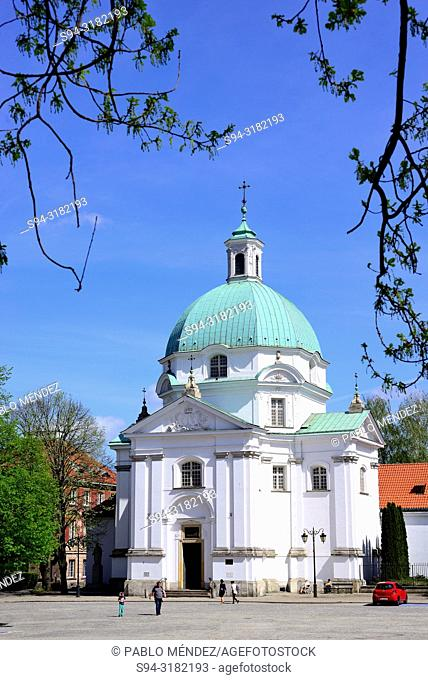 Church of Saint Sacrament, Warsaw, Poland