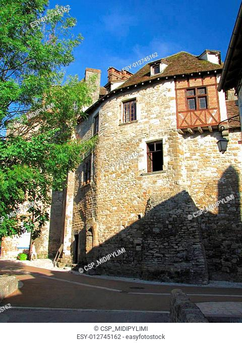 Carennac, House, Rampart