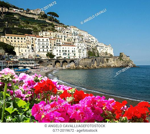Amalfi, Amalfi Peninsula, Campania, Italy
