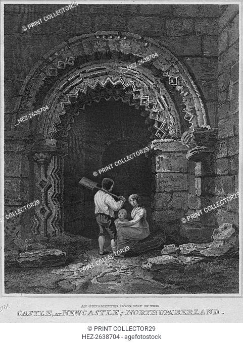 'An Ornamented Door Way in the Castle, at Newcastle; Northumberland', 1814. Artist: John Greig