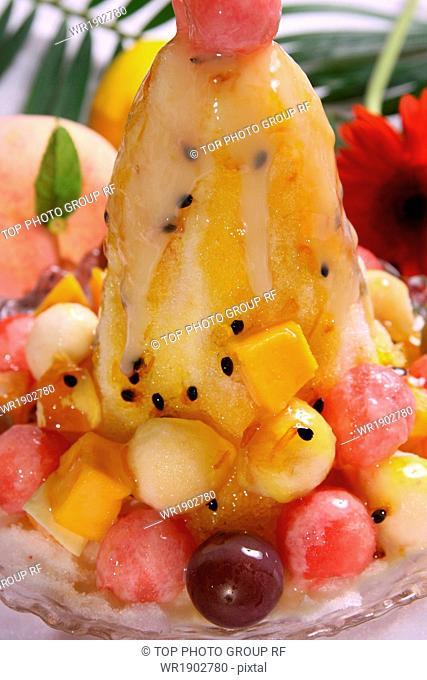 fruit water ice