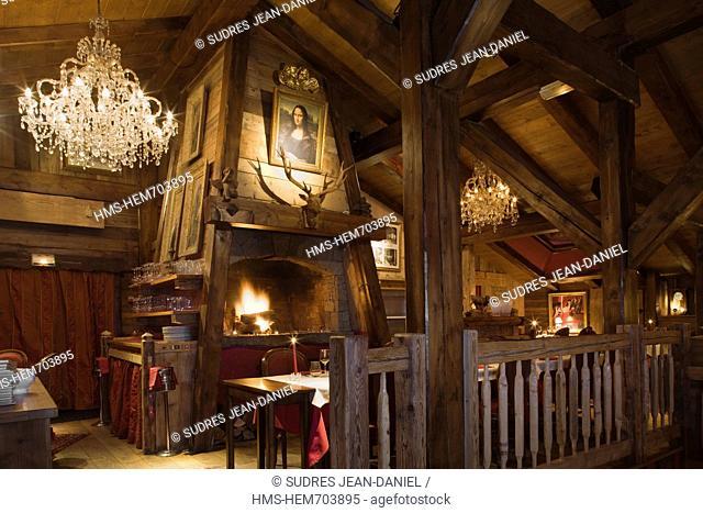 France, Haute Savoie, Chamonix, Restaurant L'Impossible